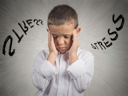 stress hoofd kind